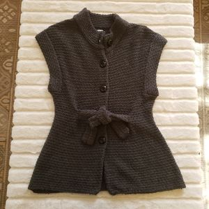 Anthropologie Tabitha sweater dark gray